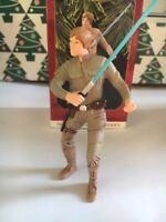 Rare Luke Skywalker Christmas Hallmark Keepsake Star Wars Ornament New In Box