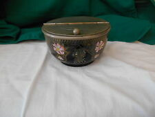 Manning Bowman Decorative Bowl with Chrome Lid.  Made In England