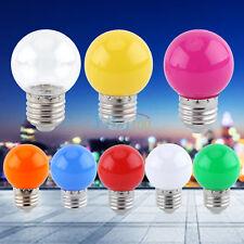 E27 Mini Couleur LED Globe Ampoule Lampe Boule Bulb Veilleuse Atmosphère Fête ZH
