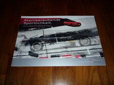 Audi A5 Coupe S LINE COMPETITION Prospekt 04/2012