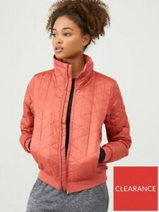 UNDER ARMOUR CG Reactor Performance Jacket - Ruby Pink SIZE XS NEW