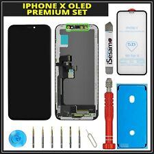 OLED Display Für iPhone X 10  3D LCD Touchscreen Black Schwarz + Premium Set