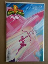 MIGHTY MORPHIN POWER RANGERS PINK #1 ELSA CHARRETIER COVER NM 1ST PRINTING MMPR