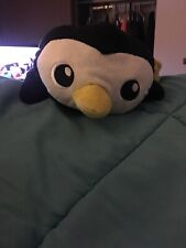 Animal Adventure Penguin Plush Stuffed Animal Black Yellow Spark Imagine Create