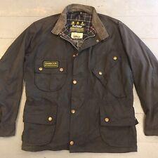 Vintage 80s Barbour International wax jacket 48 chest