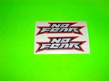 CR CRF YZ YZF KX KXF RM RMZ 85 100 125 250 450 NO FEAR MOTOCROSS 3 INCH STICKERS
