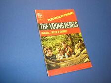 THE YOUNG REBELS #1 Dell Comics 1971 tv