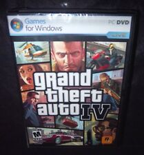 Grand Theft Auto IV   (Windows PC, 2008)   FACTORY SEALED GTA 4