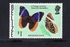 Belize 1974-1976 Brassolidae Butterflies MLH SG 392