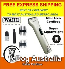 Wahl Arco Mini Wahl dog cat pet clipper powerful trimmer cordless lightweight