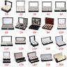 Leather Watch Glasses Jewelry Storage Bracelet Box Holder Necklace Organizer