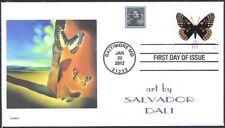 SALVADOR DALI   BUTTERFLY       FDC - DWc   CACHET #1o