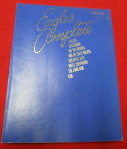 EAGLES Complete (1980) Warner Bros. Publications song book
