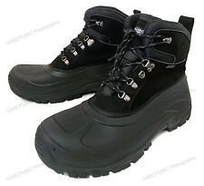 New Men's Snow Boots Waterproof Insulated Thermolit Heavy Duty Warm Winter Shoes