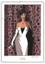 Ex-libris Sérigraphie BERTHET Treize Mystery Irina 399ex signé 21,2x29,9 cm