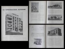 CONSTRUCTION MODERNE 1937 HOPITAL EAUBONNE, ST JEAN LES DEUX JUMEAUX, AMBROISES