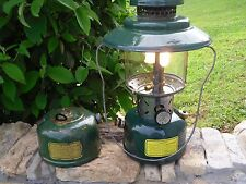 Coleman 228C two mantle lantern working dated 6-45