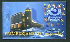 Faroe Island Booklet Stamps Scott #294a Mary Catholic Church 1995