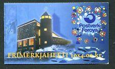 Faroe Island Booklet Stamps Scott #294a Mary Catholic Church 1995