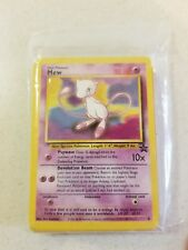 Mew #8 Black Star Promo WOTC Rare EX/NEAR MINT Pokemon Card