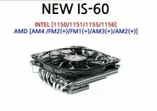 ID-COOLING IS-60 TDP 130W Low Profile PC System LP CPU Cooler 120mm Fan Tracking
