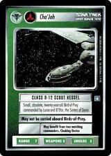 Star Trek CCG DS9 Deep Space 9 Cha'Joh