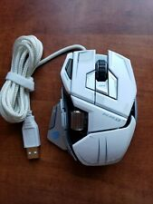 Mad Catz M.M.O.7 Gaming Mouse White for PC and Mac