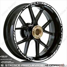 Trims Wheel Stickers Sport Honda VFR 750 800 1200 White