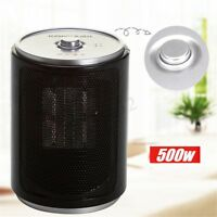 220V 500W Portable Electric Desk Mini Air Heater Fan Home Winter Warmer  SU  L9