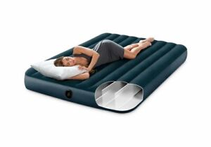 Intex 64735 Inflatable Classic Downy King Size Airbed 183 x 203 x 25 cm Mattress