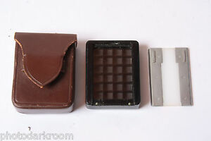 Meter Grid Panel Cell and Diffuser with Case - Untested - Germany - USED X303