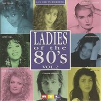 Ladies of the 80's 2 (BMG) Cher, Tina Turner, Kate Bush, Ofra Haza, Guesc.. [CD]