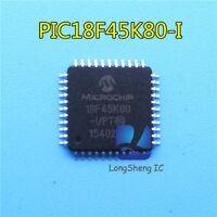 1pcs PIC18F45K80-I/PT  QFP44 18F45K80 new