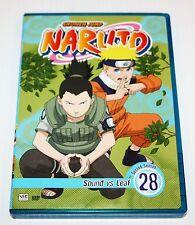 Naruto - Vol. 28: Sound vs Leaf (DVD, 2008)