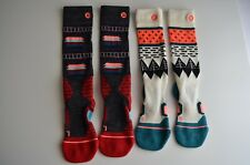 Lot of 2 Stance Wool Blend Fusion Snow Socks Snowboard, Women's Medium, Outland