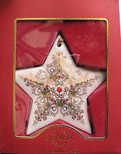 Lenox Nativity China Jewels Star Ornament First Quality New in Box