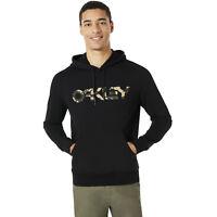 Oakley Apparel B1B PO Black Hoodie Classic Regular Fit Drawstring Hood Pullover