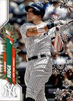 2020 Topps Holiday Short Print Variations #HW38 Aaron Judge NM-MT SP Yankees