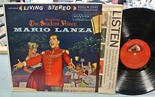 ROMBERG - THE STUDENT PRINCE LP - LANZA - RCA LIVING STEREO LSC-2339 1S/1S