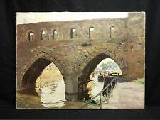 Hippolyte LETY (1878-1959) Pont des Trous à Tournai Tony Zac Bonnardel Tourcoing