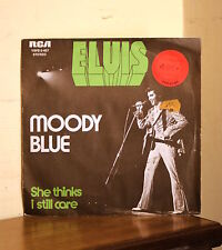 Elvis Presley - Moody Blue / She thinks I still care - RCA YBPB 0-457 - France