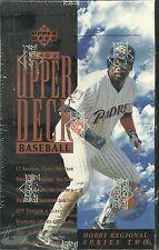 1994 UPPER DECK BASEBALL WESTERN SERIES 2 FACTORY SEALED HOBBY BOX - NICE!!