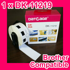 1 roll of Compatible Brother DK-11219 Round Label. Diameter: 12mm