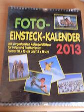 Fotoeinsteckalender 2013 Fotokalender Kalender Selbst Gestalten Foto Postkarten