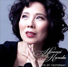 Hiromi Kanda - American Songbook Standards - DAYS OF YESTERDAY CD - NM
