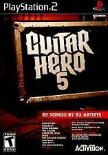 Guitar Hero 5  (Sony PlayStation 2, 2009) - BRAND NEW AND UNOPENED!!!