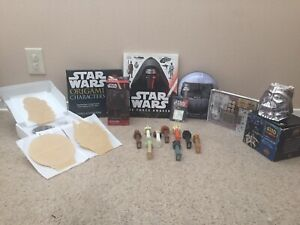 Star Wars Merchandise Lot - R2-D2, C-3PO, KYLO REN, PEZ, LED NIGHT LIGHT, MUG