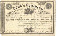 Rare scam 1846 pirate gold  Stock Certificate Captain Kidd Treasure