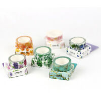 Fashion 6 Colors Washi Tape Masking Adhesive Paper DIY Craft Trim Decorative