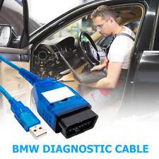 HOT SALE BMW DIAGNOSTIC SOFTWARE CABLE EDIABAS INPA DIS SSS OBD LEAD V44 V54 V57